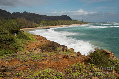 Mahaulepu Beach Photograph - Mahaulepu Beach by Ralf Broskvar