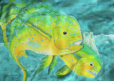 Mahi Art Print