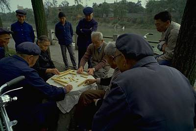 Travel Pics Royalty-Free and Rights-Managed Images - Mahjong in Guangzhou by Travel Pics