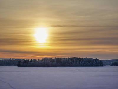 Photograph - Mahnalanselka Sunset by Jouko Lehto