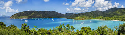 Sailboat Photograph - Maho And Francis Bays On St. John, Usvi by Adam Romanowicz
