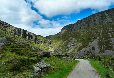 Mahon Falls Co Waterford Ireland. Art Print