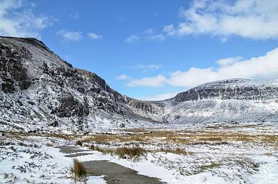 Photograph - Mahon Falls Snow by Joe Ormonde