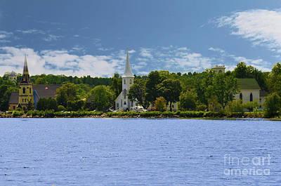 Photograph - Mahone Bay Nova Scotia by Elaine Manley