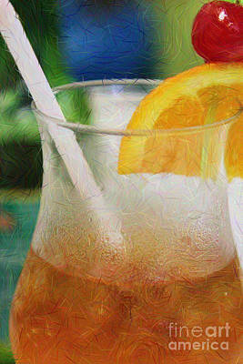 Photograph - Mai Tai Anyone by Lori Mellen-Pagliaro