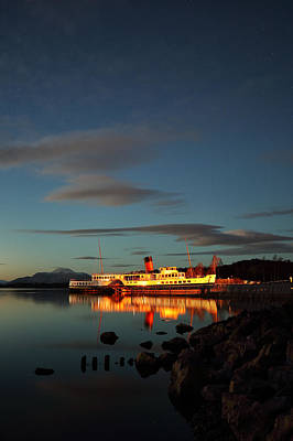 Photograph - Maid Of The Loch Twilight by Grant Glendinning