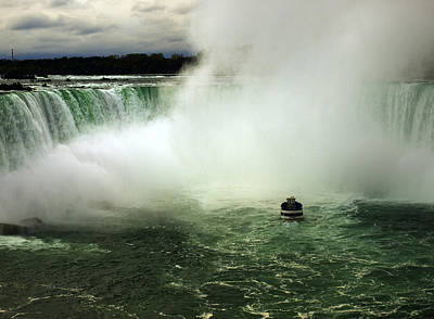 Photograph - Maid Of The Mist In Autumn by Mary Capriole