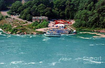 Maid Of The Mist Art Print by Kathleen Struckle