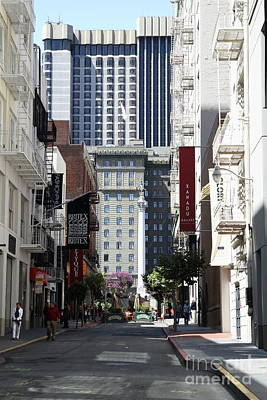 Photograph - Maiden Lane San Francisco 7d7225 by San Francisco Art and Photography