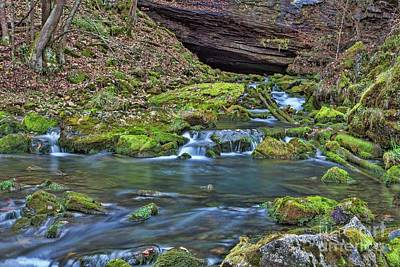 Photograph - Maiden Springs by Laurinda Bowling