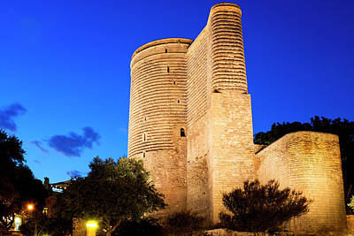 Photograph - Maiden Tower by Fabrizio Troiani