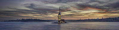 Istanbul Photograph - Maiden Tower by Rilind Hoxha
