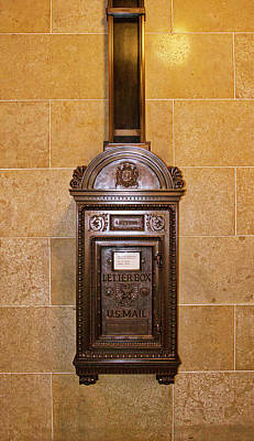 Photograph - Mail Box -capitol - Madison - Wisconsin by Steven Ralser