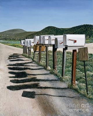 Mail Boxes Art Print