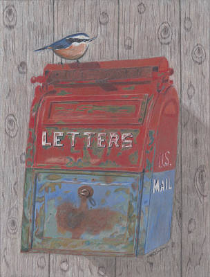 Painting - Mail Call by Arlene Crafton