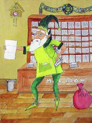Mail Elf Original by Gordon Wendling