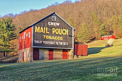 Mail Pouch Photograph - Mail Pouch Barn by Jack Paolini