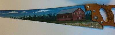 Mail Pouch Barn Painting - Mail Pouch Barn by Matt Bier