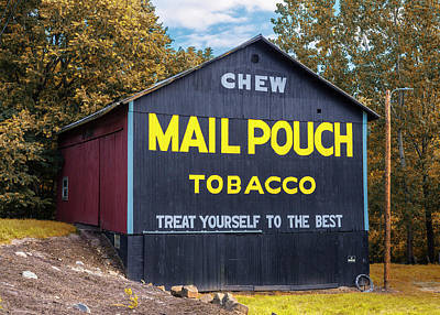 Mail Pouch Photograph - Mail Pouch Barn - Oh 83 by Stephen Stookey