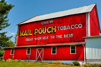 Mail Pouch Barn Art Print