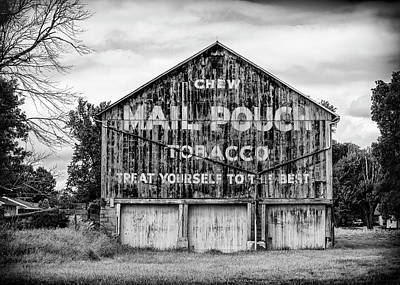 Mail Pouch Photograph - Mail Pouch Barn - Us 30 #2 by Stephen Stookey