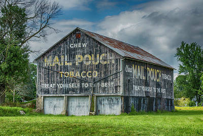 Mail Pouch Photograph - Mail Pouch Barn - Us 30 #4 by Stephen Stookey
