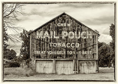 Mail Pouch Photograph - Mail Pouch Barn - Us 30 #5 by Stephen Stookey