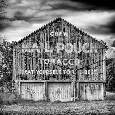 Mail Pouch Barn Photograph - Mail Pouch Barn - Us 30 #6 by Stephen Stookey