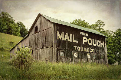 Mail Pouch Photograph - Mail Pouch Barn - U.s. 62 #1 by Stephen Stookey