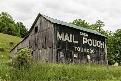 Mail Pouch Photograph - Mail Pouch Barn - U.s. 62 #2 by Stephen Stookey