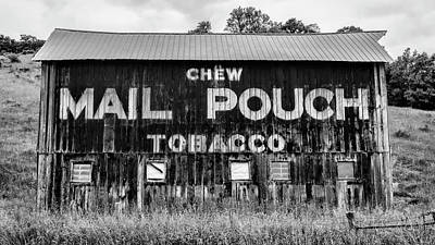 Mail Pouch Photograph - Mail Pouch Barn - U.s. 62 #3 by Stephen Stookey