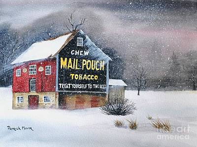 Mail Pouch Tobacco Barn Original by Patrick Moyer
