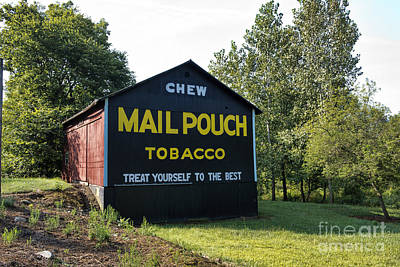 Photograph - Mail Pouch Tobacco by David Arment