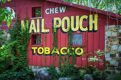 Mail Pouch Photograph - Mail Pouch Tobacco by James Barber