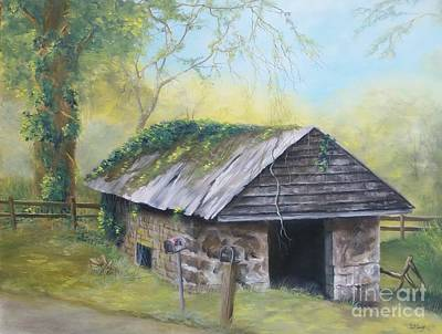 Painting - Mail To Go Out by Patricia Lang