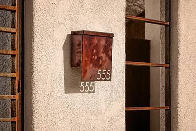 Photograph - Mailbox - 555 by Nikolyn McDonald