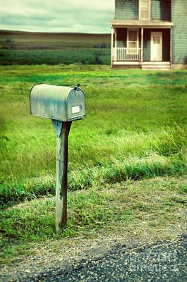 Photograph - Mailbox By Farmhouse by Jill Battaglia