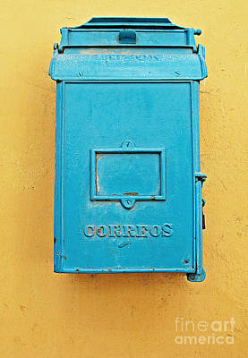 Photograph - Mailbox by Ethna Gillespie