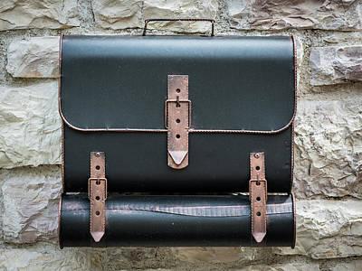 Edward Hopper - Mailbox in the shape of a schoolbag by Stefan Rotter