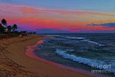 Photograph - Ma'ili Beach At Sunset by Craig Wood