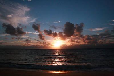 Ma'ili Sunset Art Print