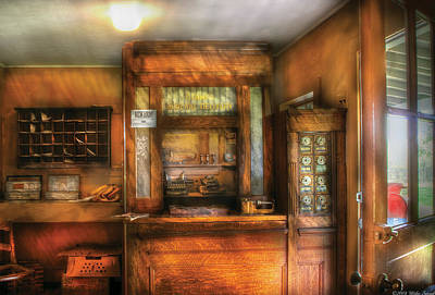 Photograph - Mailman - The Post Office by Mike Savad