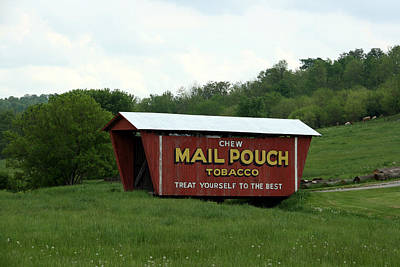 Photograph - Mailpouch Covered Bridge by George Jones