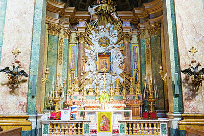 Photograph - Main Altar In The Church Of The Most Holy Name Of Mary At The Tr by Marek Poplawski