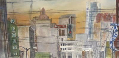 Painting - Main And Hastings by Victoria Heryet
