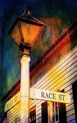 Photograph - Main And Race Street by Bob Pardue
