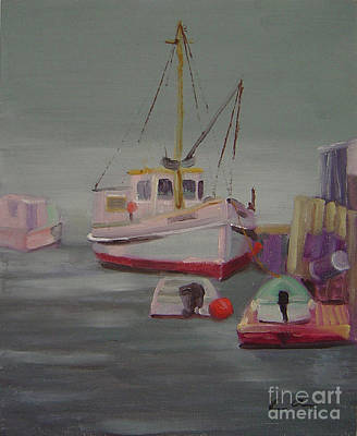 Painting - Main Boat 1 by Lilibeth Andre