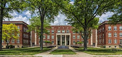 West Virginia University Photograph - Main Hall - West Liberty University West Virginia by Mountain Dreams