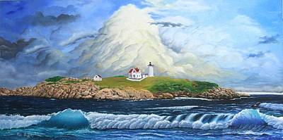 Painting - Main Lighthouse by Mike Ivey