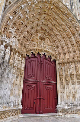 Photograph - Main Portal Of Batalha Monastery. Portugal by Angelo DeVal